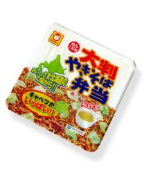 HOKKAIDO Noodle Oversized Yakisoba Bento [the Hokkaido souvenirs souvenirs souvenirs white return gifts giveaway] fs04gm Made in HOKKAIDO Free Shipping New Box